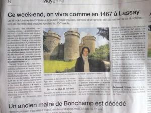 Ouest France 10 juin 2015